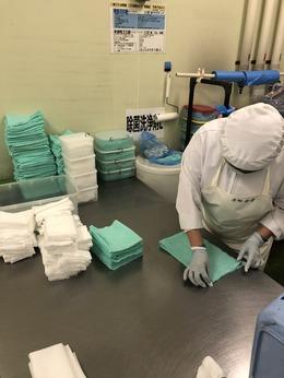 食品を製造する現場の清潔を保つお仕事です。商品の品質を守るための重要なポジションです!